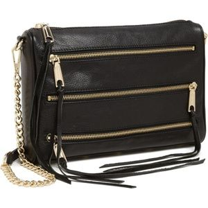 Mini 5-Zip Rebecca Minkoff Crossbody Bag